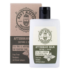 "Aftershave Balm For Sensitive Skin ""Tea Tree And Menthol"" Cosmetics For Men"