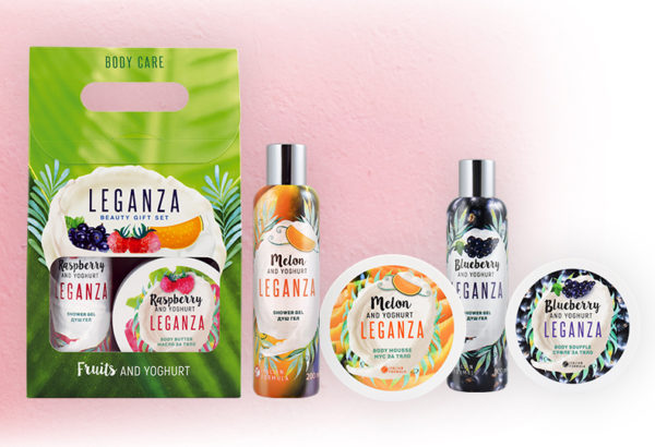 Fruit And Yoghurt Shower Gel And Body Butter
