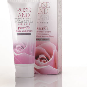 Gentle Wash Cream With Micro Capsules – Rose And Pearl