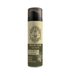 """Aloe And Green Tea"" Shaving Foam For Men"