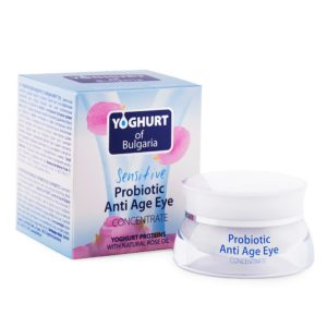 Probiotic Anti Age Eye Concentrate with Yoghurt Proteins and Natural Rose Oil